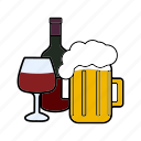 alcohol, bar, drink, liquors, strong drinks icon