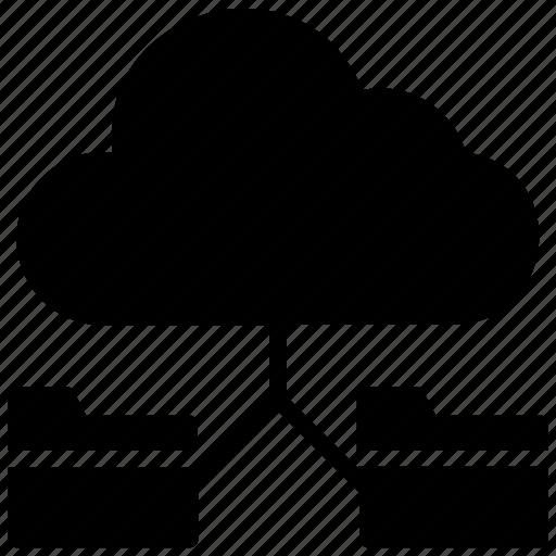 cloud backup, cloud computing, cloud hosting, cloud network, cloud storage icon