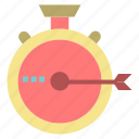 launch, management, optimization, release, stopwatch