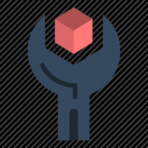 config, develop, product, sdk, service icon