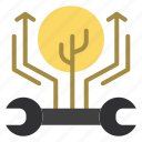development, engineering, growth, hack, hacking icon