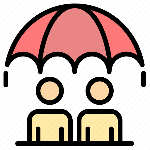 business, management, modern, risk icon