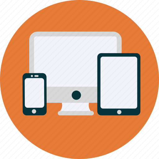 computer, development, devices, monitor, pc, phone, tablet icon