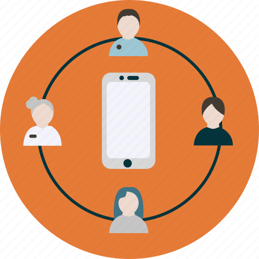 consumer, cycle, insights, mobile, phone, user icon