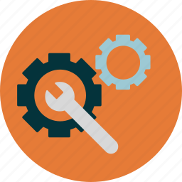 functionality, optimization, progress icon