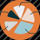chart, pie, statistics icon