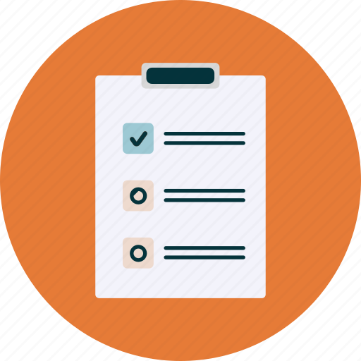 checkbox, checklist, file, planning icon