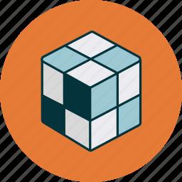 box, cube, product icon