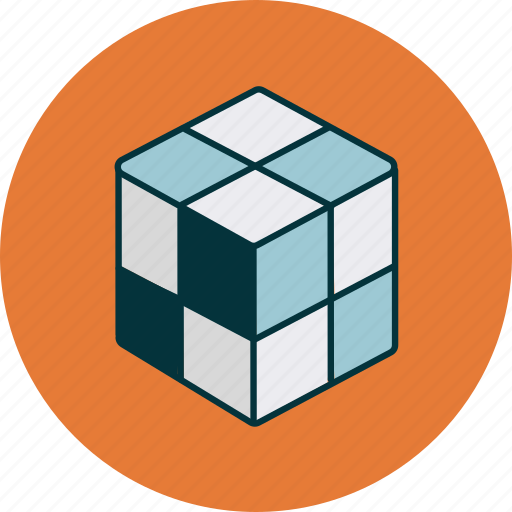 box, cube, product icon
