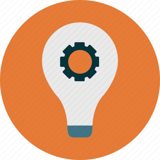 idea, light bulb, strategy icon