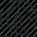 arrow, growth, market, method, performance, progress, upward icon