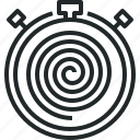 cycle, flow, nonstop, slow, speed, time icon