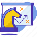 board, business, chess, plan, productivity, strategy icon