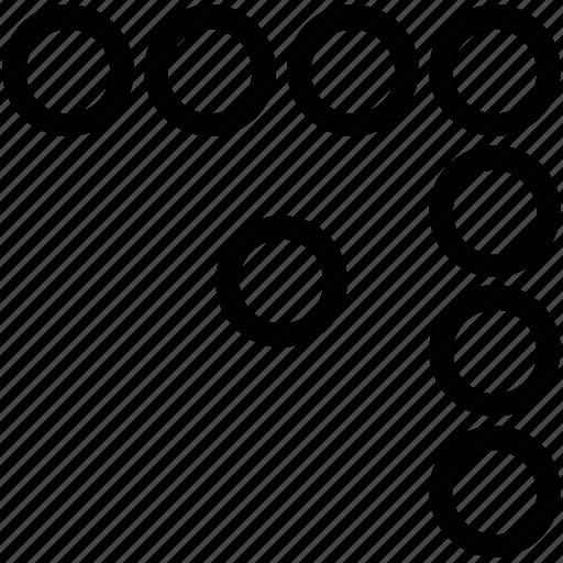coderwall, coderwall logo, dots, small circles, web ui icon