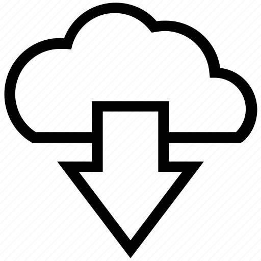 cloud computing, cloud download, cloud downloading, cloud network, downloading icon