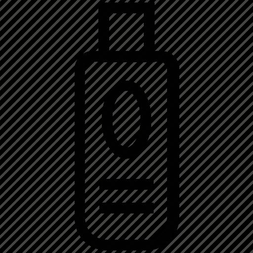 beauty product, bottle, liquid, lotion, moisturizer icon