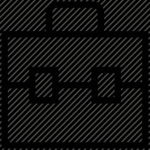 file folder, office bag, office case, official bag, portfolio icon
