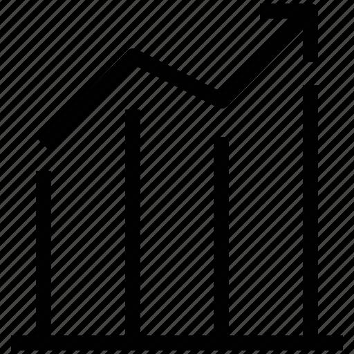 analysis, analytics, business chart, chart, graphics, statistics, stats icon