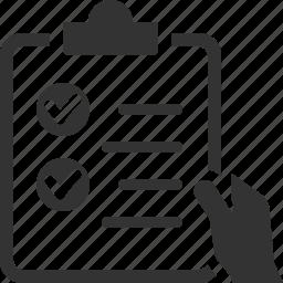 checklist, tasks, wishlist icon