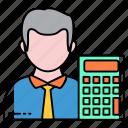 analysis, auditor, businessman, calcultor, mathematician, profession, statics
