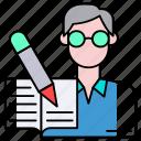 avatar, novalist, author, professional, writer, human, profession