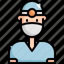 avatar, dental, dentist, dentistry, man, profession, user icon