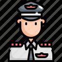 airplane, avatar, captain, man, pilot, profession, user