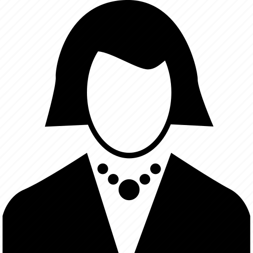 avatar, profile, user, woman icon
