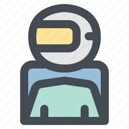 astronaut, job, occupancy, profession, work, worker icon