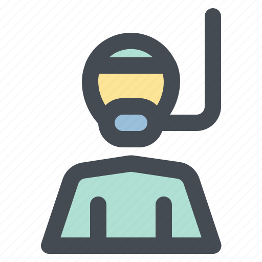 diver, job, occupancy, profession, work, worker icon