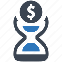 business, cash, finance, is, money, time icon