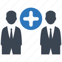 business, deal, management, office, seo icon