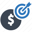 business, finance, goal, marketing, money, seo icon