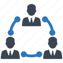connection, group, link, management, team, teamwork icon