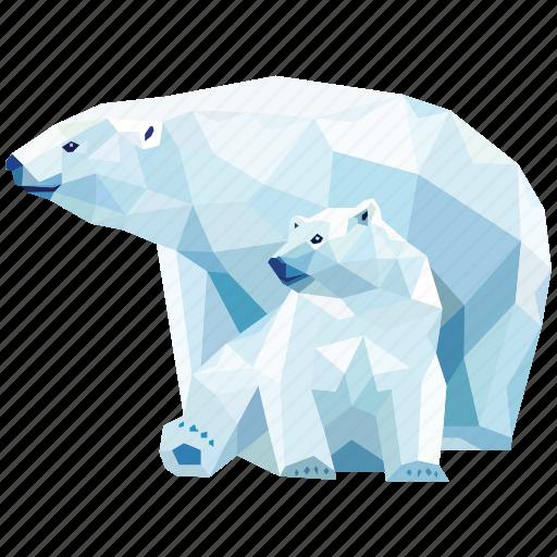 animal, baby bear, bear, bears, grizzly bear, linear animal icon