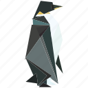 animal, linear, linear animal, nature, pinguin, sea animal icon