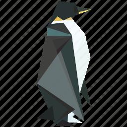 animal, linear, linear animal, nature, pinguin, sea animal icon