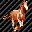 animal, caballo, horse, linear, linear animal icon