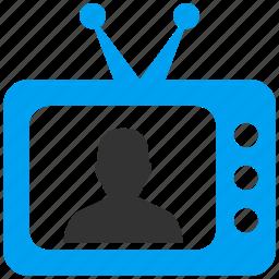 journalist, newsmaker, politician, reporter, speaker, talk show, tv actor icon