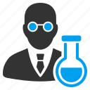 analysis, chemical, chemistry, laboratory, science, scientist, student icon