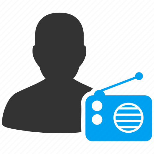 broadcast, broadcasting, mobile, news, radio, signal, speaker icon