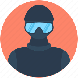 avatar, jet pilot, military, police swat, swat icon