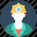 job, miner, miner avatar, occupation, worker