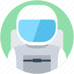astronaut, astronaut space, cosmonaut, nasa astronaut, spaceman icon