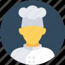 avatar, chef, cooker, male, restaurant