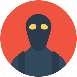 burglar, criminal, ninja, robber, thief icon