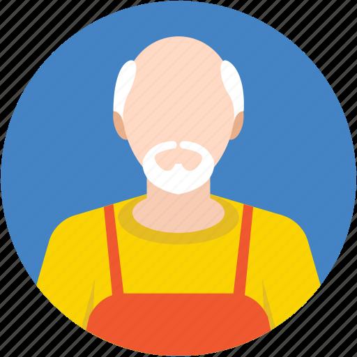 caretaker, farmer, gardener, greenskeeper, nurseryman icon