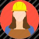 architect, avatar, female architect, female engineer, worker