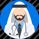 arab, arabic doctor, arabian, muslim, doctor