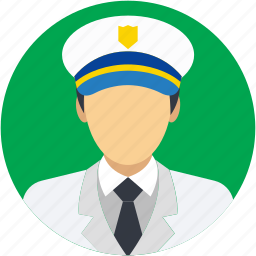 aircrew, airline pilot, captain, occupation, pilot icon